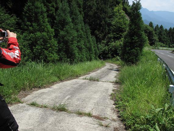 この林道を入るようです.JPG